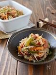 常備菜*えのき茸と人参とピーマンの梅煮