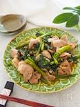 ご飯がすすむ⭐︎おうちで簡単中華⭐︎豚肉と空芯菜の炒め物