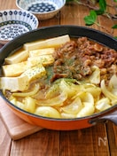 *牛肉と新玉ねぎと牛肉のとろみカレーすき煮*