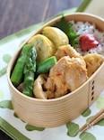 【15分弁当】鶏モモ肉とレンコンのピリ辛味噌弁当