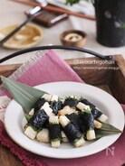 一口おつまみに最適♡大葉香る山芋のひとくち海苔巻き揚げ♡