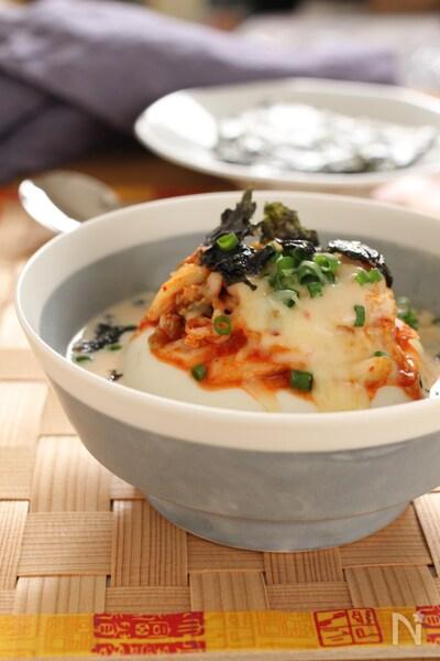 豆乳 豆腐 スープ