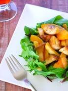 免疫力アップ!かぼちゃとエリンギのホットサラダの作り方レシピ