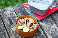 網焼き松茸の炊き込みご飯