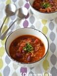 【フリーカ】フリーカのチリコンカン風スープ