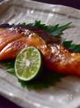 【ちょっとのコツ】〜塗るだけしっとり♪焼き魚〜魚を食べよう