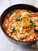 簡単旨すぎ♡我が家流『辛麺』〆が最強に美味しい!!