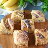 【材料 3つだけ】卵バター無し!モチふわ豆腐バナナブレッド