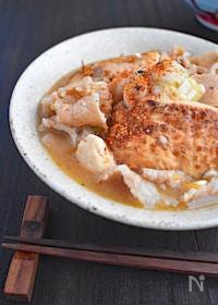 『【豚薄切り肉でつくる】肉豆腐』