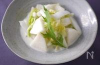 白菜と梨の白いデリ風サラダ あと一品に✽すぐできレシピ