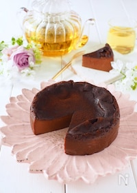 『美味さ半端ない!ぷるるんチョコプリンチーズケーキ』