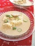 里芋の冷んやり胡麻&豆乳豆腐の味噌汁