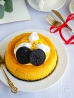 濃厚かぼちゃのベイクドチーズケーキ