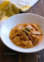 こっくりコク旨!鶏肉とごぼうの味噌クリーム煮