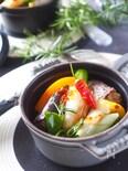 【簡単時短・風邪予防】鯖缶と長ねぎのアヒージョ〈オイル煮〉
