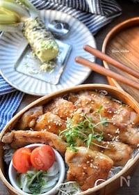 『安い肉でも柔らかい♡ガッツリ旨し♡豚ロースde旨辛わさび丼♡』