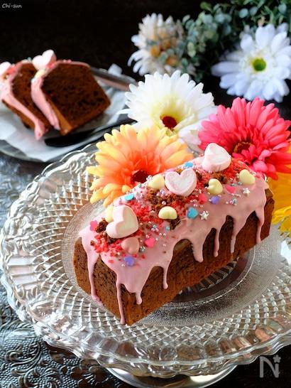 いちごとチョコレートで作るチョコレートケーキ