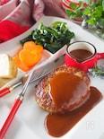【保存版】基本のハンバーグステーキ*捏ね方焼き方の基本