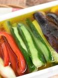 彩り夏野菜のマリネ