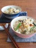 山菜ミックスで簡単☆優しいお味の山菜ごはん