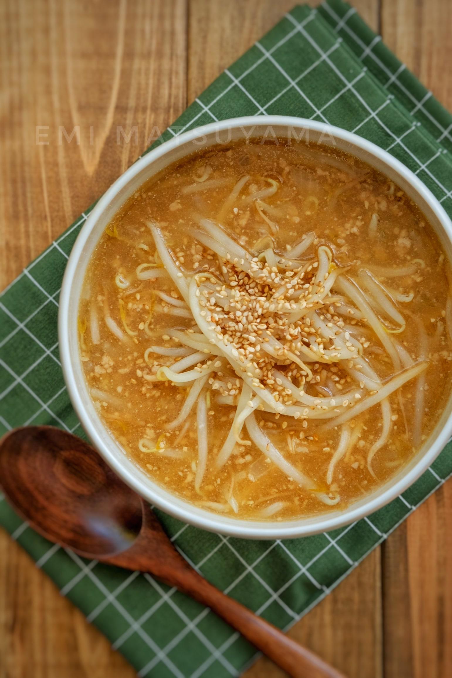 スープ 簡単 ラーメン