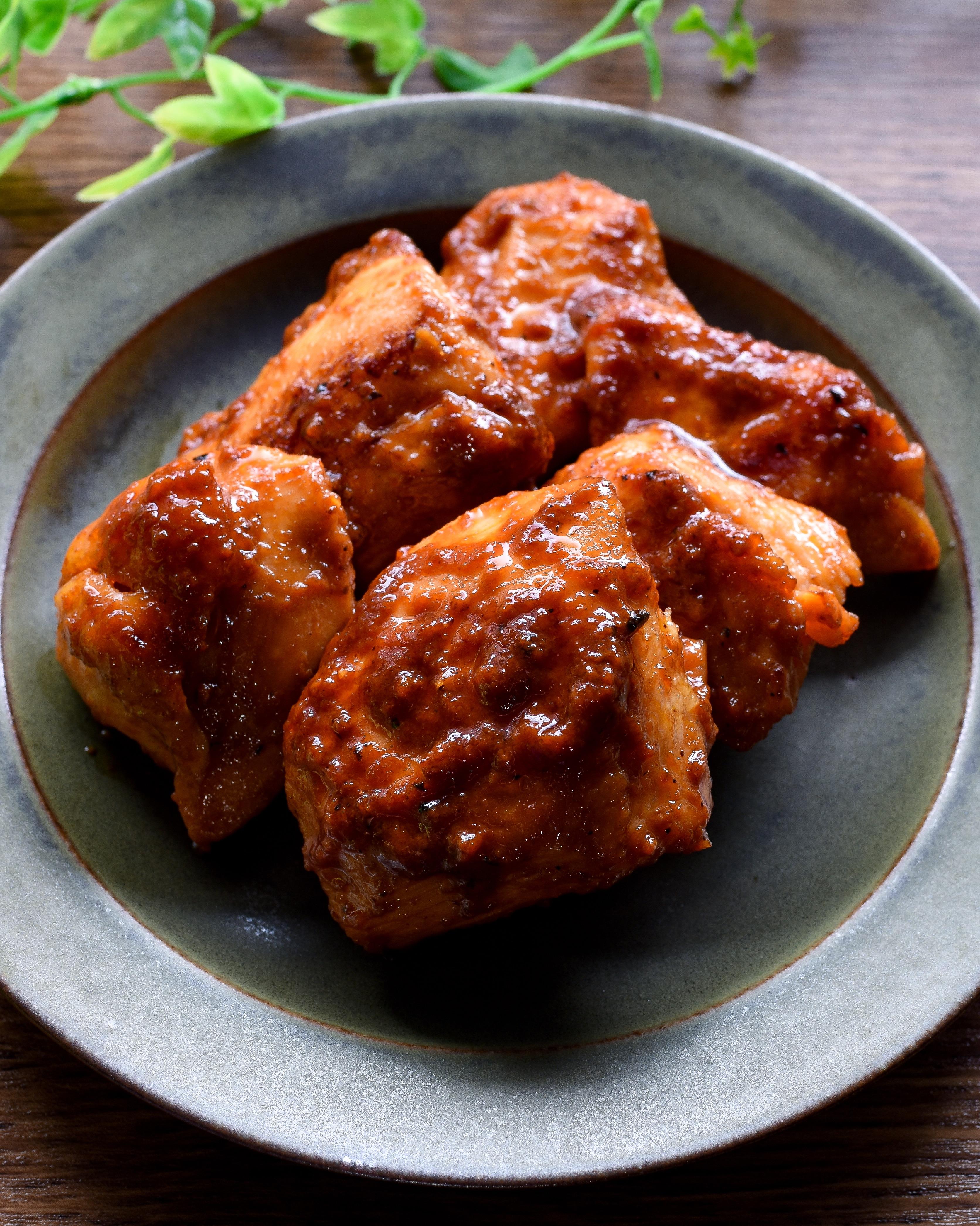 生焼け 鶏肉