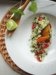 和ハーブと食べる冷製サラダライス