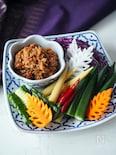 秋刀魚のディップ(タイ料理・ナムプリック)