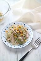 【取り分けごはん】さっぱりおいしい♡春雨サラダ
