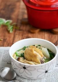 『手羽先とにらの食べる生姜スープ鍋 』