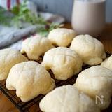 食パンで簡単♡ミニメロンパン