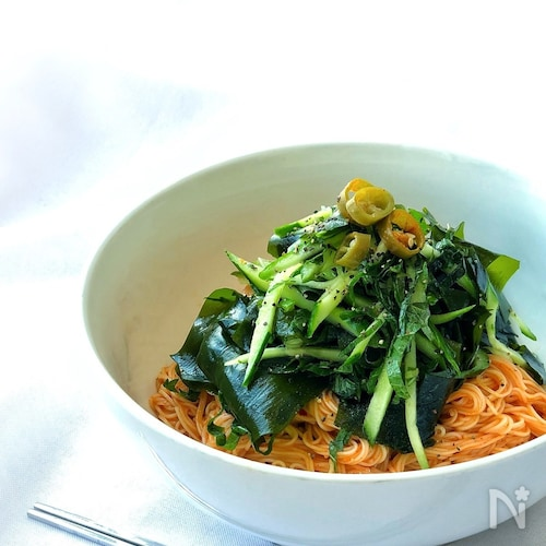 *ヘルシー激辛ビビン麺*
