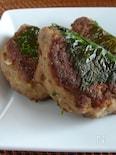 秋刀魚ハンバーグ。