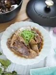 甘辛味がヤミツキ♡味が染み込んだ【葱鮪煮】