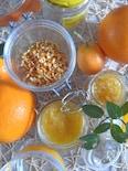 1時間半で《オレンジピュレ、オレンジコンフィ、塩オレンジ》