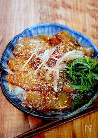 『鯛の漬け丼』