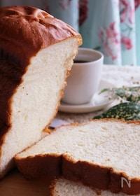 『HBに材料を入れるだけ♡ふんわり美味しい豆乳はちみつ食パン』