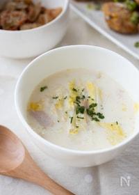 『『白菜とハムのミルクスープ』#白菜消費』