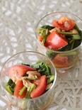 困った時にもう1品♪小松菜、トマト、ツナのサラダ