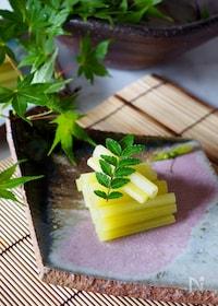 『【作り置き】さわやかな緑色*ふきの翡翠煮*』