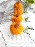 かぼちゃとアーモンドのきんとん