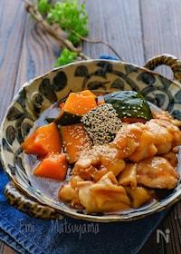 『柔らか鶏肉とかぼちゃのとろみ煮』