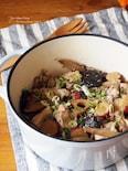 秋野菜の肉豆腐