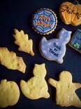アイシングクッキーにも♡ハロウィンかぼちゃクッキー
