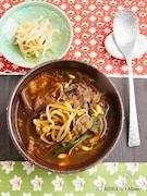ユッケジャン(韓国風牛肉のピリ辛スープ)