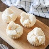 【基本】鍋で簡単!米粉蒸しパン♪油・卵なし!膨らませるコツ