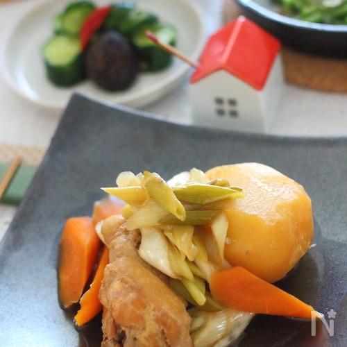 鶏手羽元の旨煮