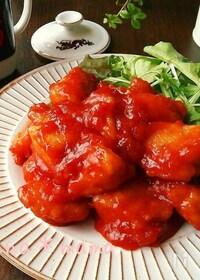 『鶏むね肉で♪ピリ辛旨々~鶏チリ♪』