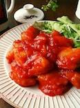 鶏むね肉で♪ピリ辛旨々~鶏チリ♪