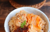 豚キムチ炊き込みご飯